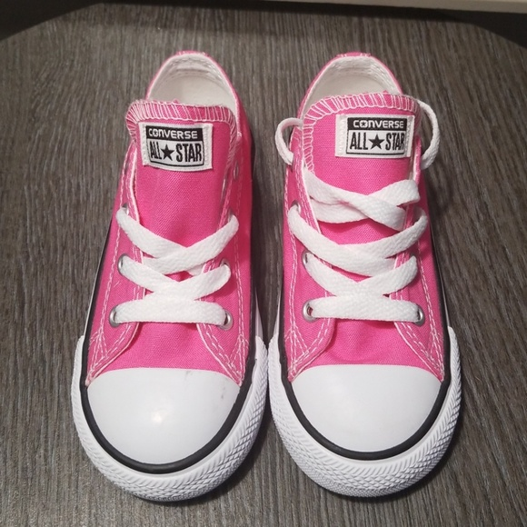 Toddler Size 9 Dark Pink Converse All Star Low Top NWT